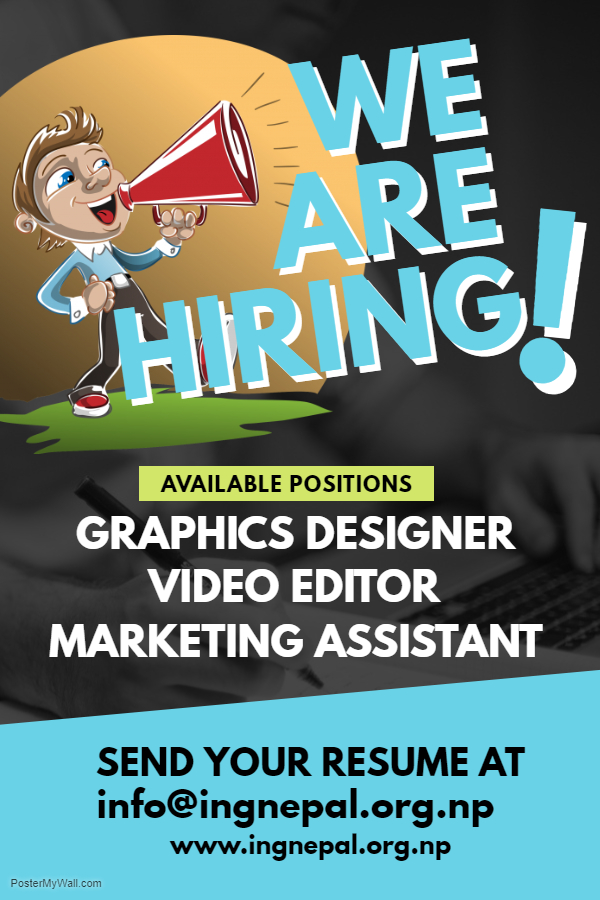 Copy of Hiring Poster – Made with PosterMyWall